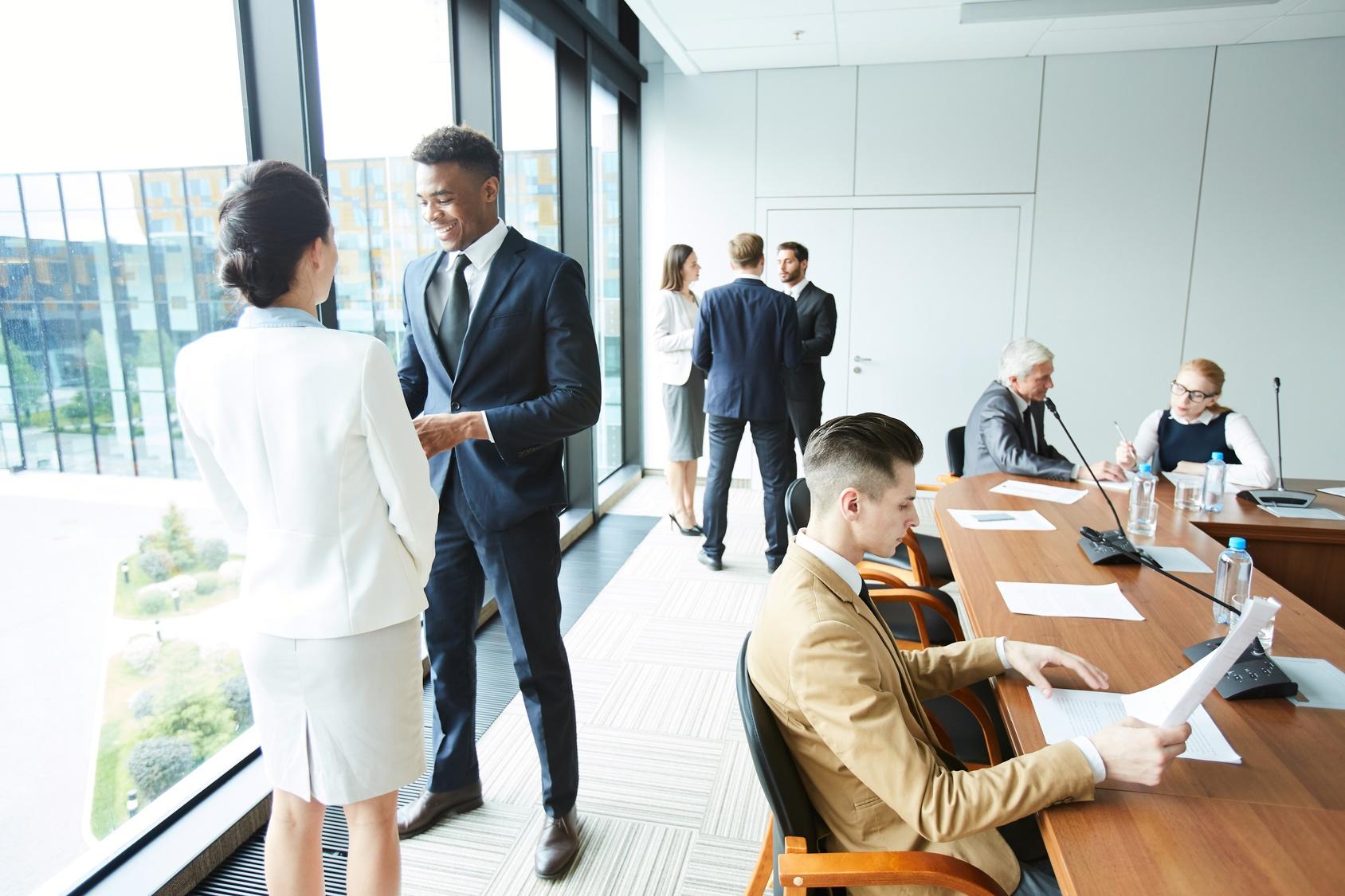 delegates-working