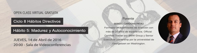 Ciclo de conferencias Hábitos Directivos por Escuela de Negocios y Dirección