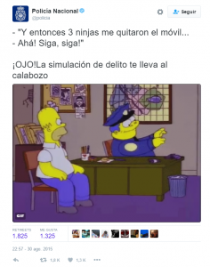 enyd Tuit Policia