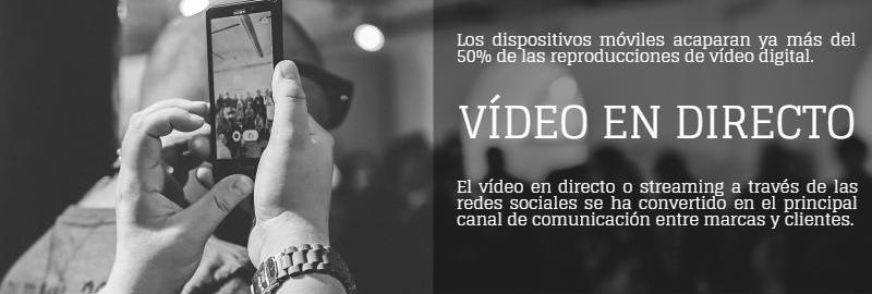 enyd infografía vídeo en directo