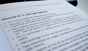 enyd checklist ingeniería de la exportación