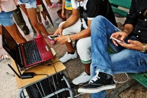 redes sociales y reclutamiento