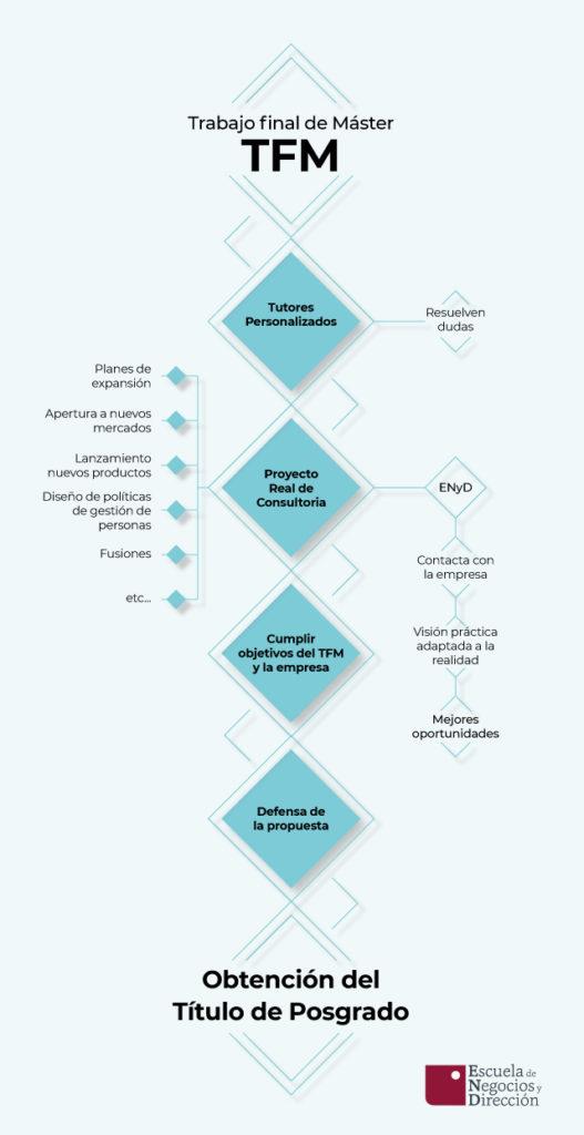 Infografía sobre trabajo final de máster