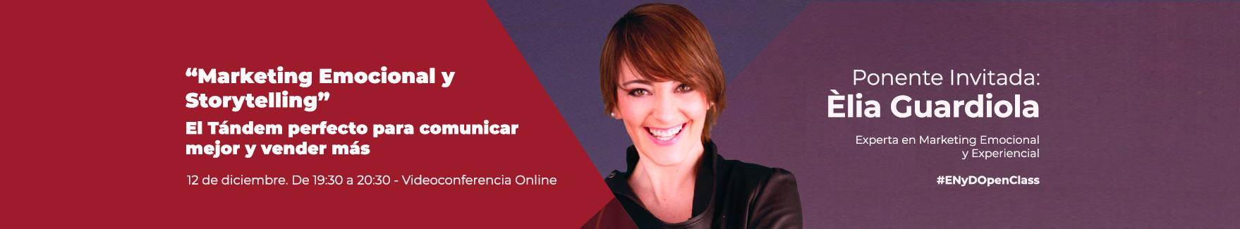OpenClass Elia Guardiola sobre marketing relacional