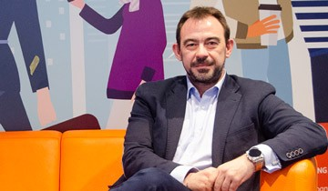 Andrés Ortega de ING hablando de las metodologías ágiles
