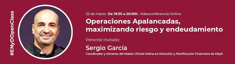 OPERACIONES APALANCADAS POR SERGIO GARCIA