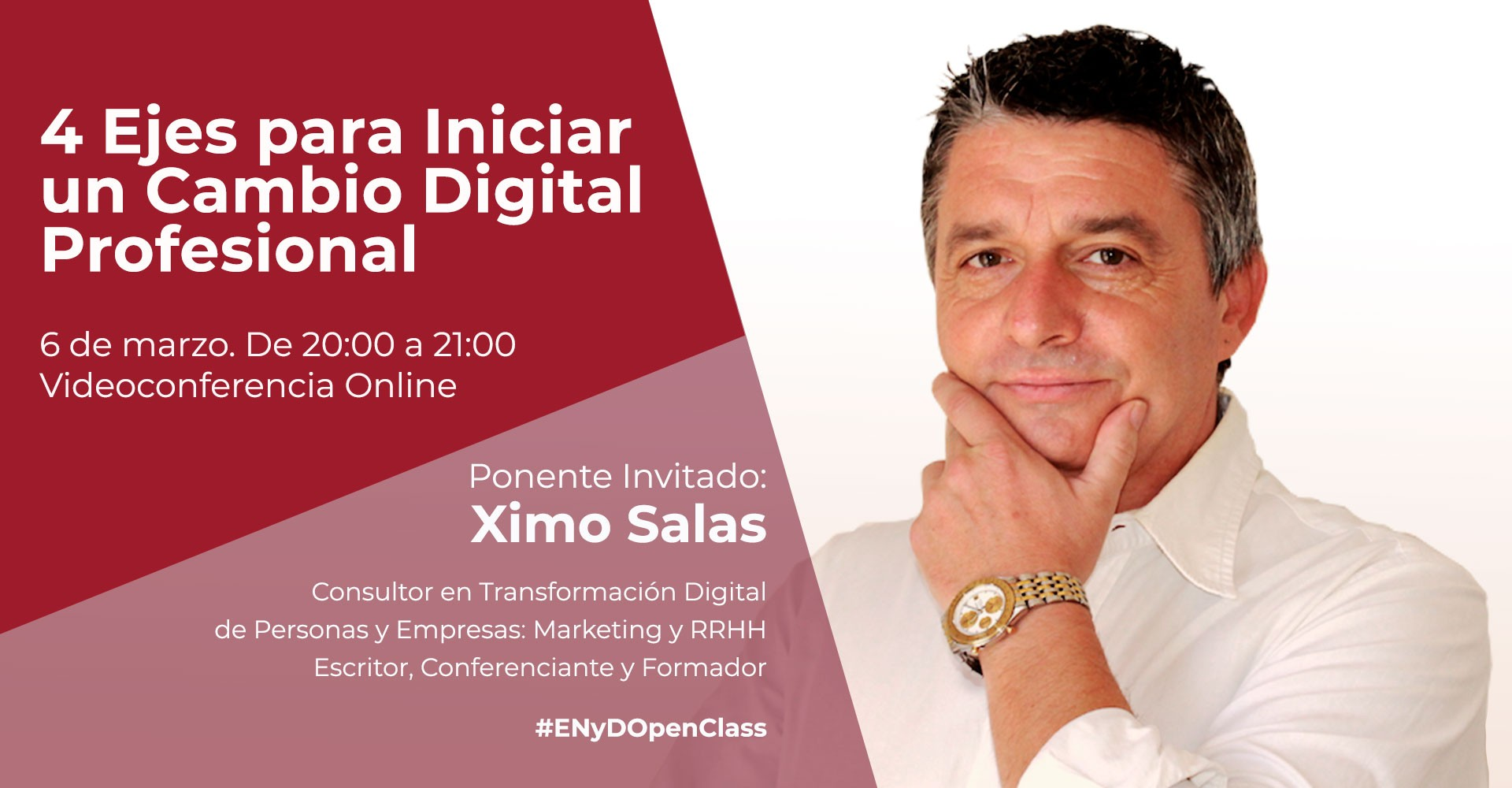 Openclass sobre cambio digital
