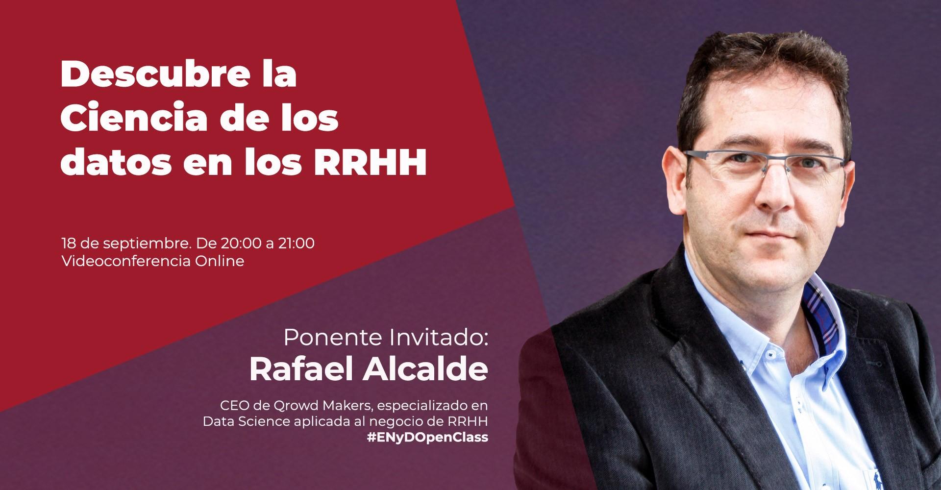 OpenClass Rafael Alcalde ciencia de datos