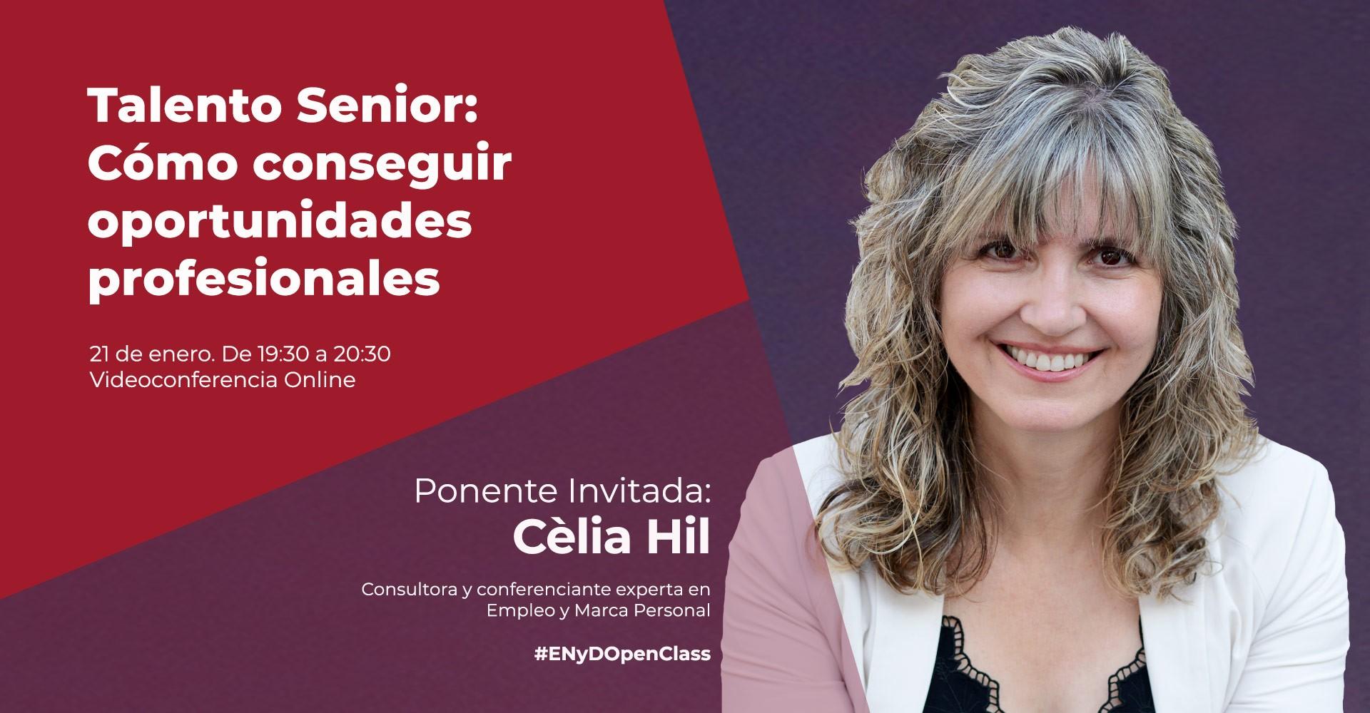 Cèlia Hil - Openclass sobre Talento Senior