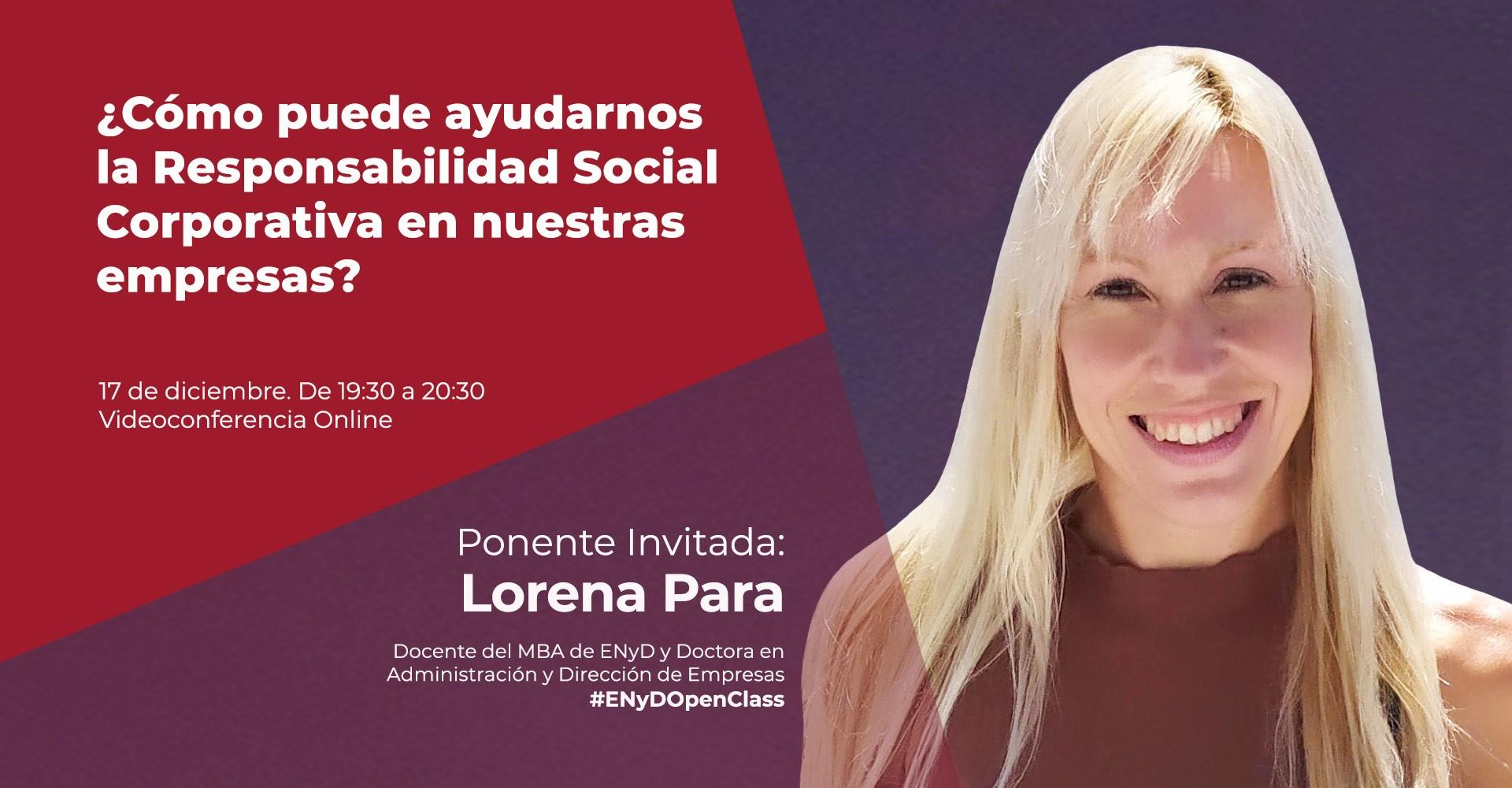 Openclass Lorena Para