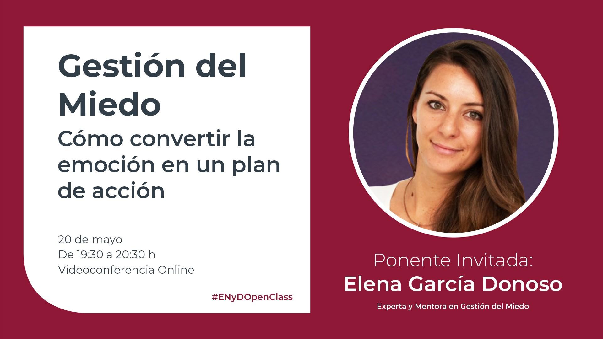 OpenClass Gestión del Miedo Elena García
