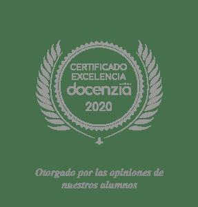 Certificado excelencia - Docenzia