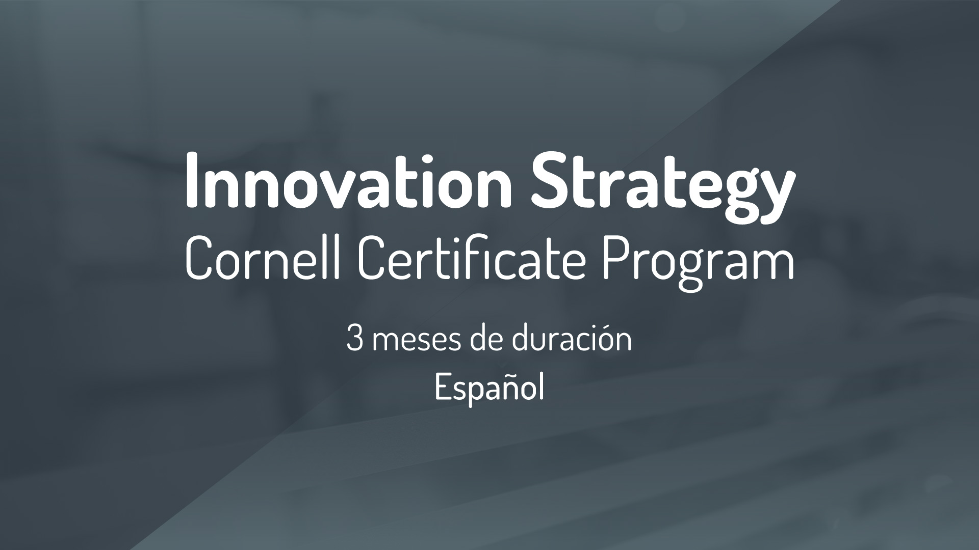 cornell certificate programs